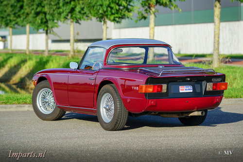 1971 Triumph TR6 PI (CP) Overdrive Surrey-Top LHD  For Sale (picture 6 of 6)