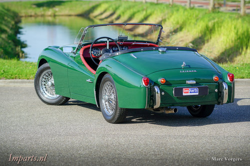 1959 Very good Triumph TR3A with Overdrive For Sale (picture 4 of 6)