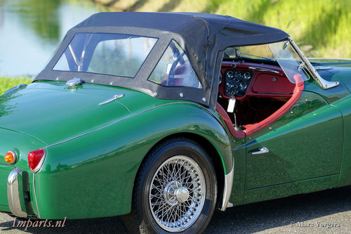 1959 Very good Triumph TR3A with Overdrive For Sale (picture 5 of 6)