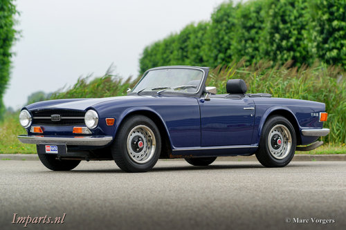 1971 Triumph TR6 PI (CP) Overdrive LHD For Sale (picture 1 of 6)