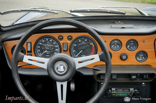 1971 Triumph TR6 PI (CP) Overdrive LHD For Sale (picture 2 of 6)