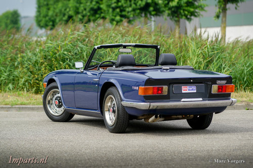 1971 Triumph TR6 PI (CP) Overdrive LHD For Sale (picture 5 of 6)