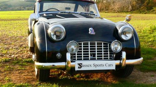 1957 Triumph TR3  SOLD (picture 1 of 6)
