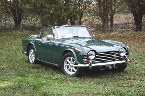 1968 TR5 FOR SALE AT NEC 9-11 NOVEMBER SOLD (picture 1 of 1)