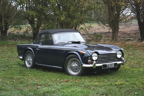1968 ORIGINAL TR5 AT THE NEC 9-11 NOVEMBER SOLD (picture 1 of 1)