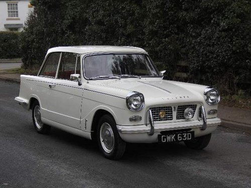 1966 Triumph Herald 1200 SOLD (picture 1 of 6)