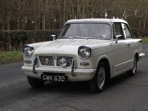 1966 Triumph Herald 1200 SOLD (picture 2 of 6)