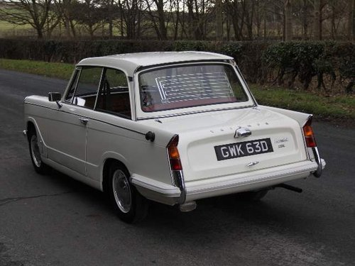 1966 Triumph Herald 1200 SOLD (picture 3 of 6)