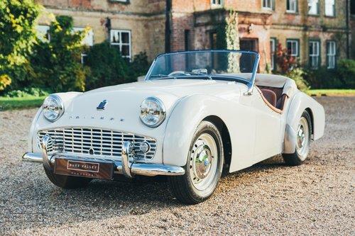 1957 Triumph TR3 SOLD (picture 3 of 6)