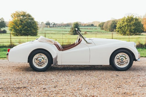 1957 Triumph TR3 SOLD (picture 4 of 6)