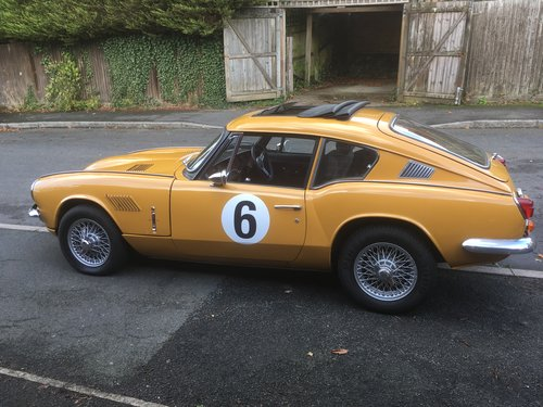 GT6 Mk.2    One of the last.   1971 J Registration SOLD (picture 1 of 5)