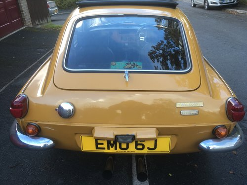 GT6 Mk.2    One of the last.   1971 J Registration SOLD (picture 5 of 5)
