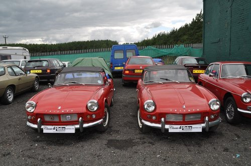 1963 & 1964 TRIUMPH SPITFIRE 4 MK1 VERY RARE INVESTMENT For Sale (picture 1 of 6)