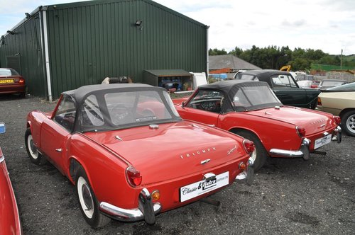 1963 & 1964 TRIUMPH SPITFIRE 4 MK1 VERY RARE INVESTMENT For Sale (picture 3 of 6)