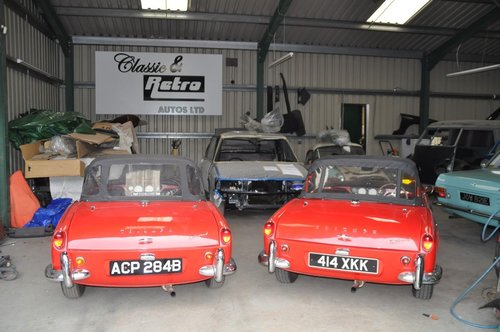 1963 & 1964 TRIUMPH SPITFIRE 4 MK1 VERY RARE INVESTMENT For Sale (picture 4 of 6)