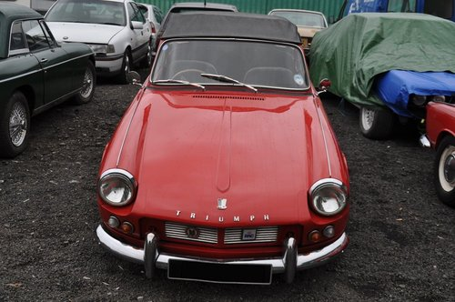 1963 & 1964 TRIUMPH SPITFIRE 4 MK1 VERY RARE INVESTMENT For Sale (picture 5 of 6)