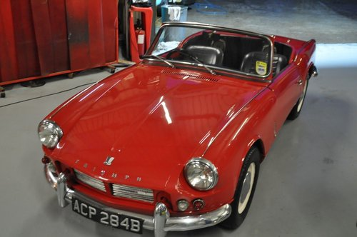 1963 & 1964 TRIUMPH SPITFIRE 4 MK1 VERY RARE INVESTMENT For Sale (picture 6 of 6)
