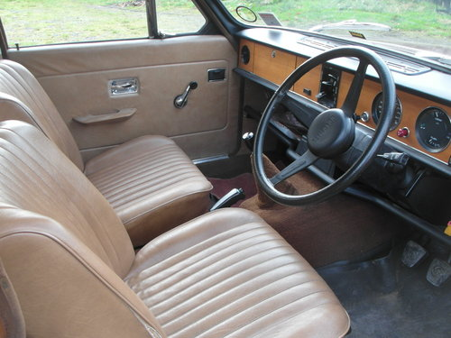 1978 low mileage Dolomite 1300 in great condition SOLD (picture 3 of 6)
