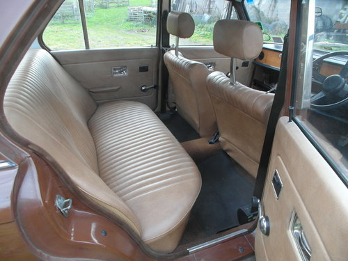 1978 low mileage Dolomite 1300 in great condition SOLD (picture 4 of 6)
