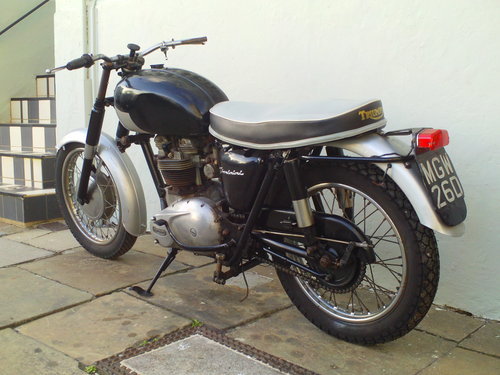 1966 TRIUMPH THUNDERBIRD 6T SOLD (picture 4 of 6)