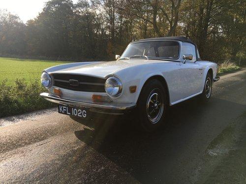 1969 Triumph TR6 PI For Sale (picture 1 of 6)