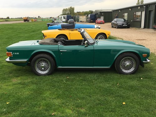 1971 UK150 bhp Triumph TR6  For Sale (picture 2 of 6)