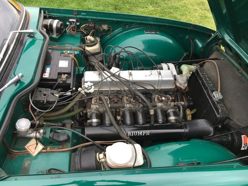 1971 UK150 bhp Triumph TR6  For Sale (picture 5 of 6)