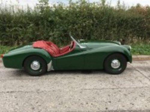 1956 Triumph TR3 Green  For Sale (picture 3 of 6)