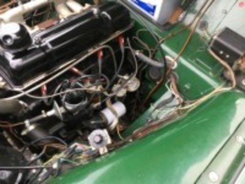 1956 Triumph TR3 Green  For Sale (picture 4 of 6)