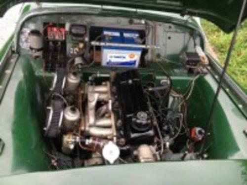 1956 Triumph TR3 Green  For Sale (picture 6 of 6)