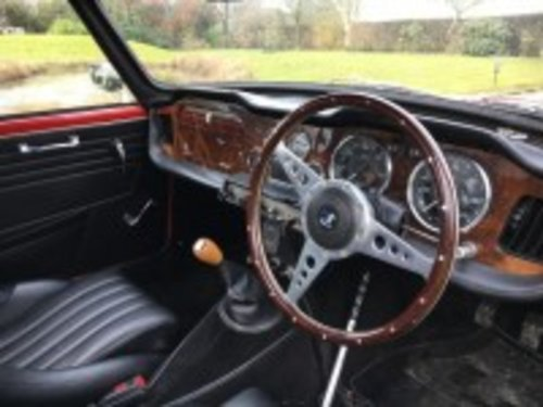 1961 Triumph TR4 Red For Sale (picture 4 of 6)