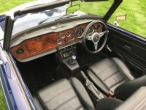 1974 UK Triumph TR6 PI For Sale (picture 4 of 5)