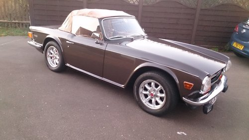 1972 CP series fuel injection TR6 150 Bhp. For Sale (picture 3 of 6)