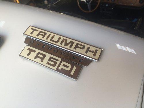 1968 Triumph TR5 PI For Sale (picture 6 of 6)