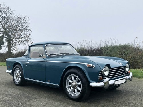 1968 Triumph TR5 2500 PI manual / overdrive SOLD (picture 3 of 6)