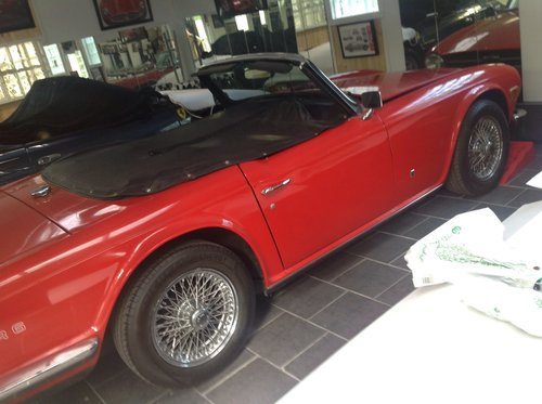 1973 TRIUMPH TR6 48,000 MILE ORIGINAL UK SPECS For Sale (picture 4 of 6)