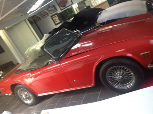 1973 TRIUMPH TR6 48,000 MILE ORIGINAL UK SPECS For Sale (picture 5 of 6)