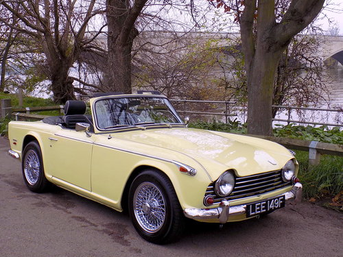 1968 TRIUMPH TR5 Pi - ORIGINAL UK RHD 'MATCHING NUMBERS' CAR For Sale (picture 1 of 6)