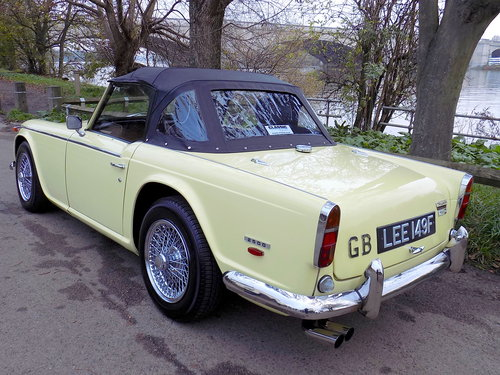 1968 TRIUMPH TR5 Pi - ORIGINAL UK RHD 'MATCHING NUMBERS' CAR For Sale (picture 2 of 6)