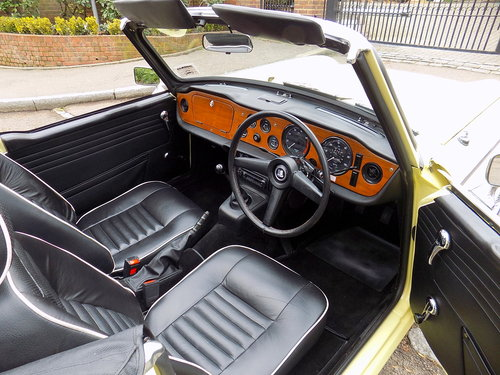 1968 TRIUMPH TR5 Pi - ORIGINAL UK RHD 'MATCHING NUMBERS' CAR For Sale (picture 3 of 6)