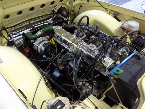 1968 TRIUMPH TR5 Pi - ORIGINAL UK RHD 'MATCHING NUMBERS' CAR For Sale (picture 4 of 6)