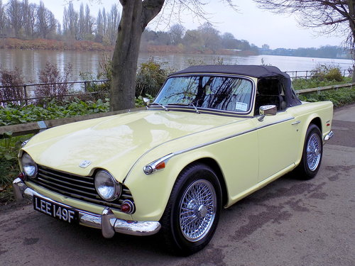 1968 TRIUMPH TR5 Pi - ORIGINAL UK RHD 'MATCHING NUMBERS' CAR For Sale (picture 6 of 6)