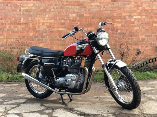 Triumph Trident T150 1974 Matching Number SOLD (picture 1 of 6)