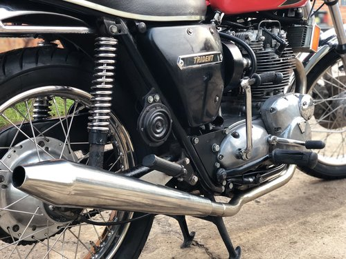 Triumph Trident T150 1974 Matching Number SOLD (picture 4 of 6)