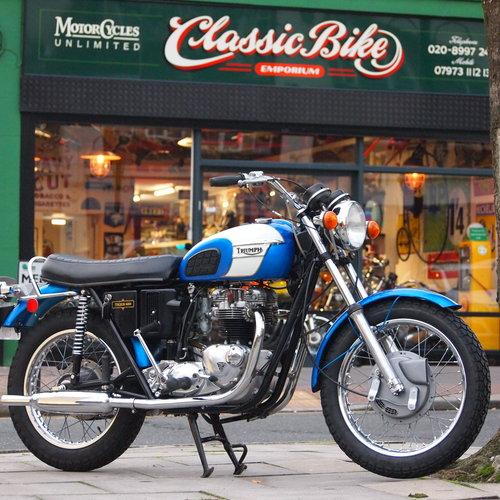 1972 TR6R 650 Tiger, Matching Numbers, RESERVED FOR GEOFF. SOLD (picture 1 of 6)