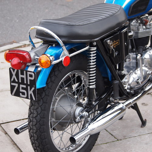 1972 TR6R 650 Tiger, Matching Numbers, RESERVED FOR GEOFF. SOLD (picture 2 of 6)