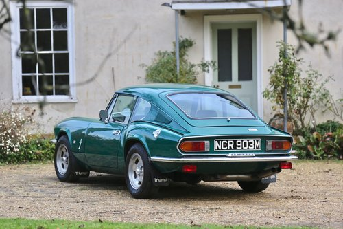1972 Triumph Gt6 Mk3 From Life On Mars For Sale Car And Classic