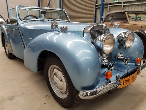 1947 Triumph 1800 Roadster by Firma Trading Australia For Sale (picture 1 of 6)