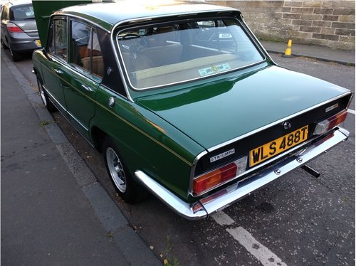 1979 An exceptional Triumph Dolomite for sale SOLD (picture 4 of 6)