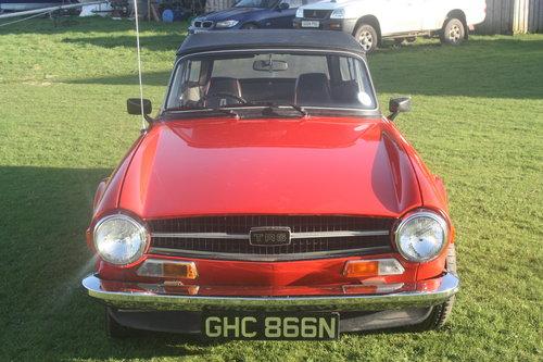 1975 Triumph TR6 For Sale (picture 3 of 6)